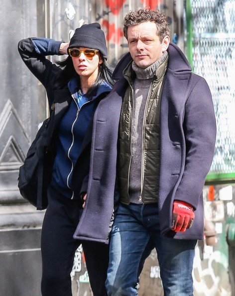 Michael Sheen - Sarah Silverman & Michael Sheen Out For A Romantic Stroll In New York City