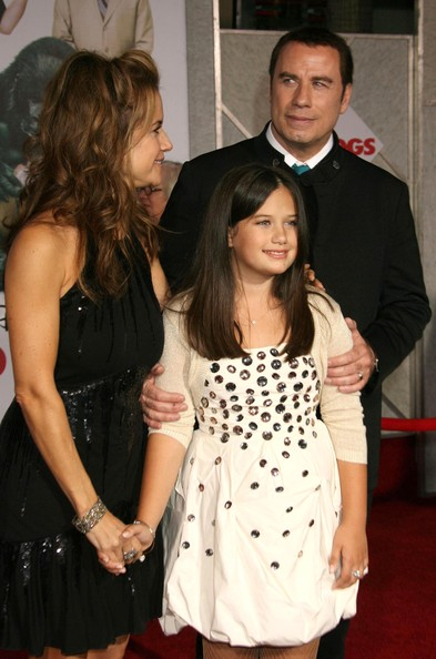 John Travolta And Family Attends Old Dogs Premiere In L A K Brocking