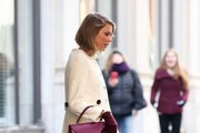 Singer Taylor Swift is seen leaving her apartment in New York City, New York on February 17, 2015. Taylor was one of the many celebrities who recently attended the SNL 40th Anniversary Gala.