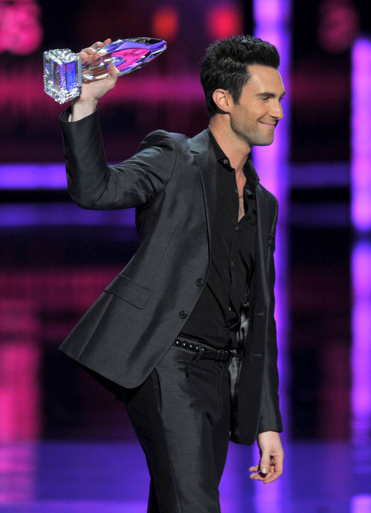 Adam Levine Photos Photos 2012 Peoples Choice Awards