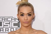 Singer Rita Ora attends the 2014 American Music Awards at Nokia Theatre L.A. Live on November 23, 2014 in Los Angeles, California.