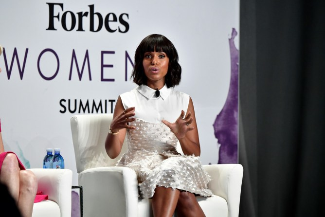 Kerry Washington Forbes Women's Summit