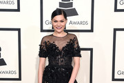 Singer Jessie J attends The 57th Annual GRAMMY Awards at the STAPLES Center on February 8, 2015 in Los Angeles, California.
