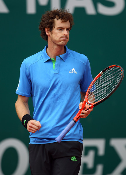 Andy Murray - ATP Masters Series Monte Carlo - Day Five