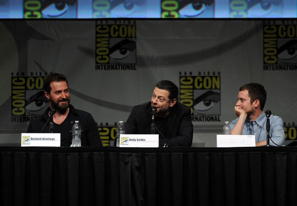 """Andy Serkis and Richard Armitage - Warner Bros. Pictures And Legendary Pictures Preview - """"The Hobbit: An Unexpected Journey"""" - Comic-Con International 2012"""