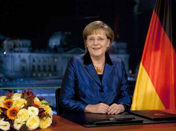 Angela Merkel Photos Photos   Chancellor Merkel Delivers Annual New     Chancellor Merkel Delivers Annual New Year Speech