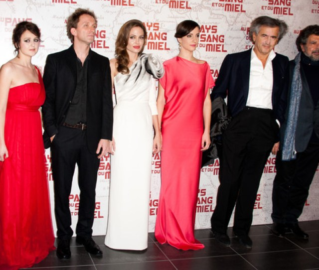 In The Land Of Blood And Honey Paris Premiere