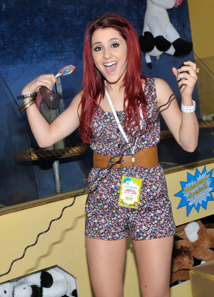 Ariana Grande - Kevin & Steffiana James And Make-A-Wish Foundation Host A Day OF Fun