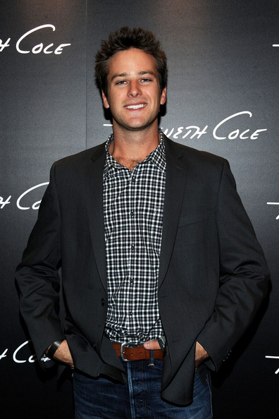Armie Hammer - Grand Opening Of Kenneth Cole Boutique At Santa Monica Place - Inside