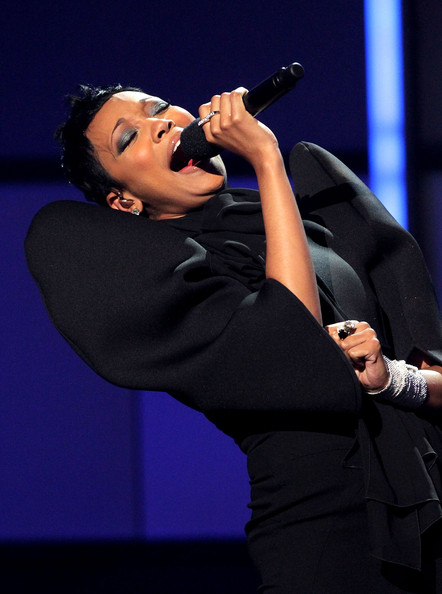 Singer Monica performs onstage during the 2010 BET Awards held at the Shrine Auditorium on June 27, 2010 in Los Angeles, California.