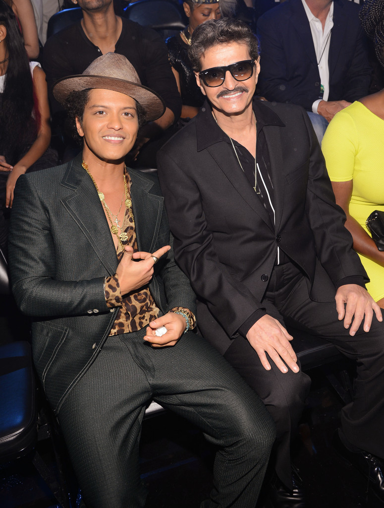 bruno mars and father