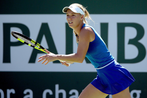 Image result for wozniacki indian wells 2017