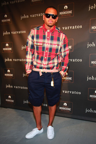 Chris Brown Chris Brown attends the John Varvatos 10th Anniversary Party at John Varvatos 315 Bowery Boutique on September 11, 2010 in New York City.