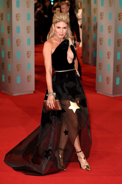 Hofit Golan attends the EE British Academy Film Awards at The Royal Opera House on February 8, 2015 in London, England.