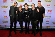 Brent Kutzle, Drew Brown, Ryan Tedder, Eddie Fisher and Zach Filkins of OneRepublic attend HOT 99.5's Jingle Ball 2014, Presented by Mattress Warehouse at the Verizon Center on December 15, 2014 in Washington, D.C.
