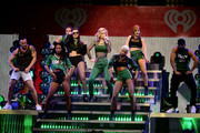 Iggy Azalea performs onstage during HOT 99.5's Jingle Ball 2014, Presented by Mattress Warehouse at the Verizon Center on December 15, 2014 in Washington, D.C.