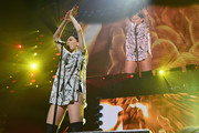 Jessie J performs onstage during HOT 99.5's Jingle Ball 2014, Presented by Mattress Warehouse at the Verizon Center on December 15, 2014 in Washington, D.C.