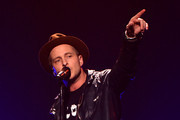 Ryan Tedder of OneRepublic performs onstage during HOT 99.5's Jingle Ball 2014, Presented by Mattress Warehouse at the Verizon Center on December 15, 2014 in Washington, D.C.