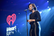 Demi Lovato performs onstage during HOT 99.5's Jingle Ball 2014, Presented by Mattress Warehouse at the Verizon Center on December 15, 2014 in Washington, D.C.
