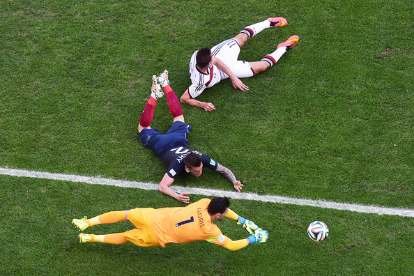Hugo Lloris - France v Germany: Quarter Final - 2014 FIFA World Cup Brazil