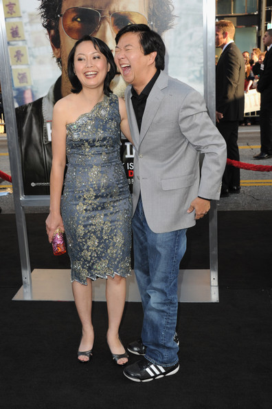 Ken Jeong And Tran Ho Photos Photos Premiere Of Warner