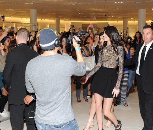 Kendall Jenner And Kylie Jenner Launch Their New Shoe And Handbag Collection Kendall Kylie For