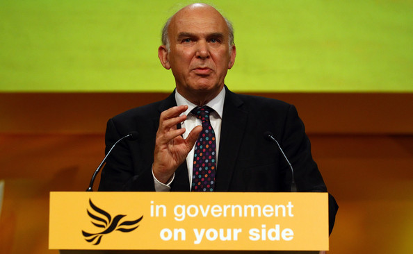 vince cable pitches liberal democrats party business launch 4