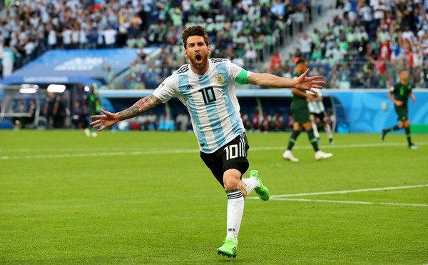 Nigeria Vs. Argentina: Group D - 2018 FIFA World Cup Russia