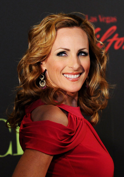 Marlee Matlin Actress Marlee Matlin arrives at the 38th Annual Daytime Entertainment Emmy Awards held at the Las Vegas Hilton on June 19, 2011 in Las Vegas, Nevada.