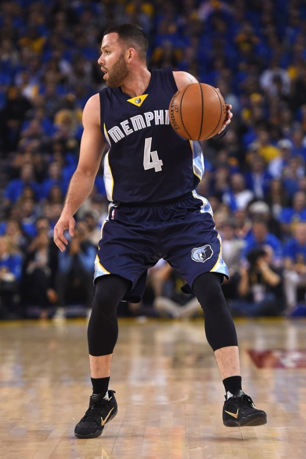 Jordan Farmar in Memphis Grizzlies v Golden State Warriors ...
