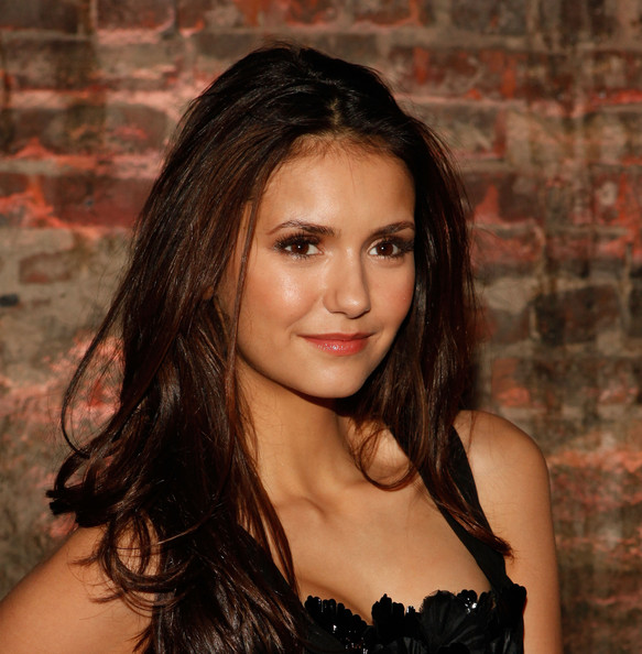Nina Dobrev - Christian Siriano - Backstage - Fall 2012 Mercedes-Benz Fashion Week