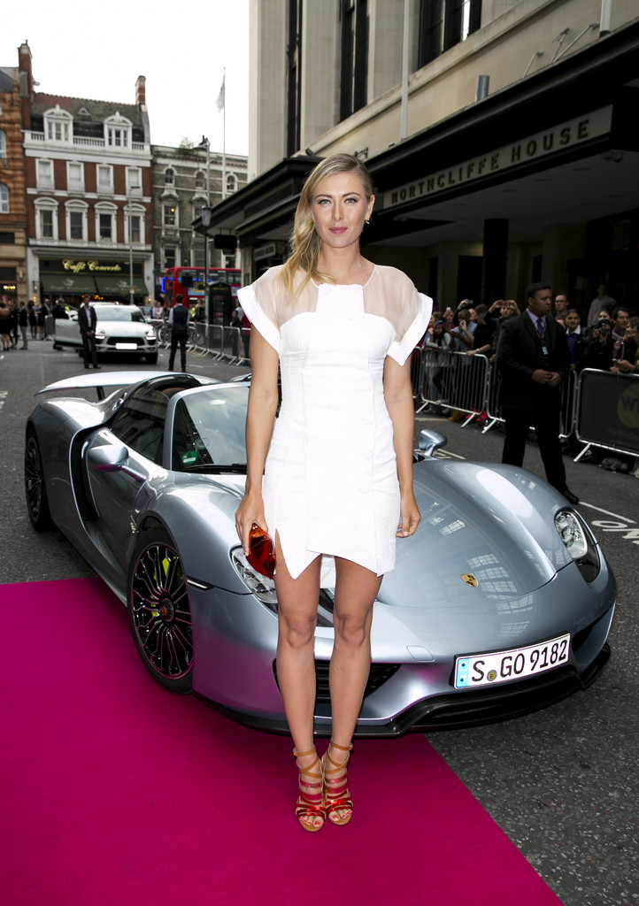 Maria Sharapova Photos Photos Porsche Arrivals At The