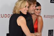 (L-R) Actress Felicity Huffman, director/writer/actor William H. Macy and actress Selena Gomez attend the Screening Of Samuel Goldwyn Films' 'Rudderless' at the Vista Theatre on October 7, 2014 in Los Angeles, California.