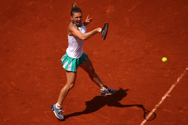 Image result for halep french open 2017 zimbio