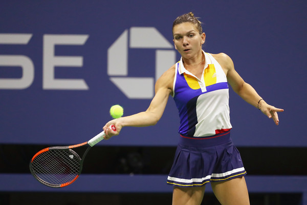 Image result for halep us open 2017 zimbio