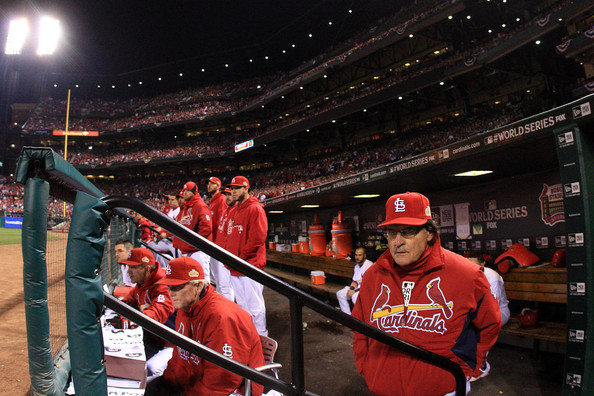 Image result for tony larussa dugout