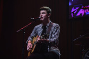 Shawn Mendes performs at Z100 & Coca-Cola All Access Lounge at Z100's Jingle Ball 2014 pre-show at Hammerstein Ballroom on December 12, 2014 in New York City.