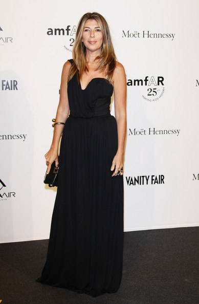 Marie Claire Fashion Directo Nina Garcia attend amfAR MILANO 2011 at La Permanente on September 23, 2011 in Milan, Italy.