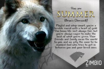 Summer Game of thrones