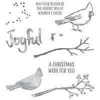 Joyful Season Photopolymer Stamp Set by Stampin' Up!