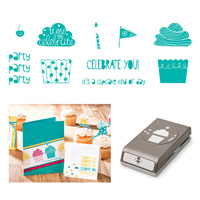 Cupcake Party Clear-mount Bundle by Stampin' Up!
