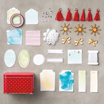 Tin of Tags Project Kit $39