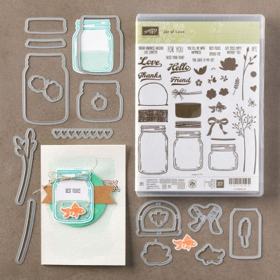 Jar of Love Bundle - Shop with Leonie Schroder Independent Stampin' Up! Demonstrator Australia