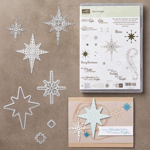 Star of Light Bundle $84.50 (Stamp Set & Framelits)