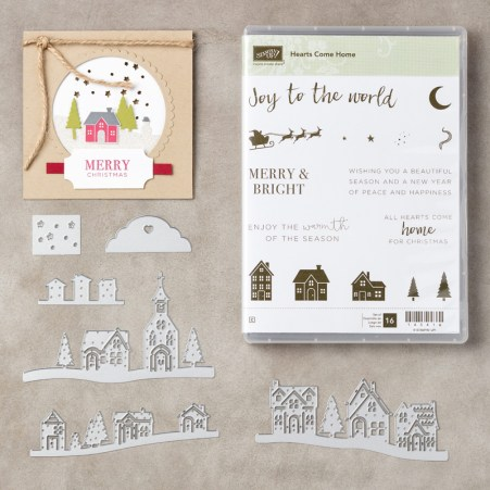 Hearts Come Home buy now from Leonie Schroder Independent Stampin' Up! Demonstrator