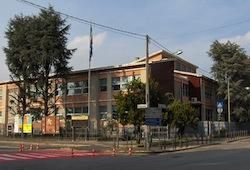 scuole medie carminati lonate pozzolo incendio doloso