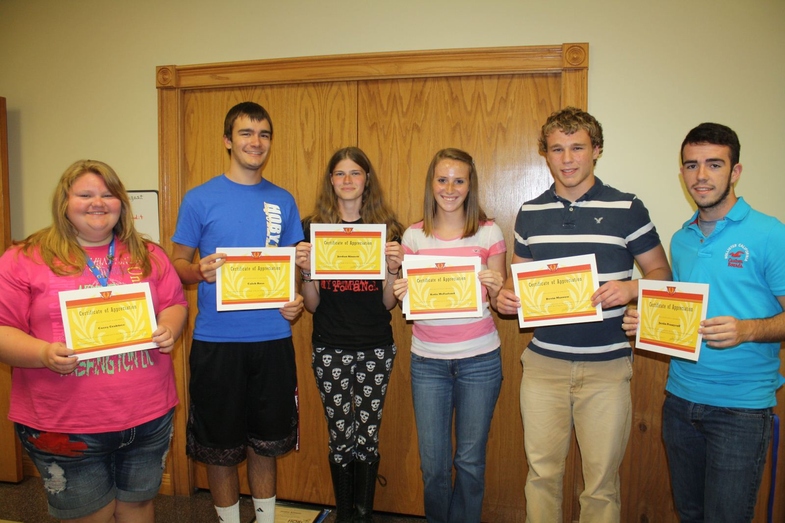 Wayne County Board Of Education Recognizes High School Students Talents During Recent Meetings