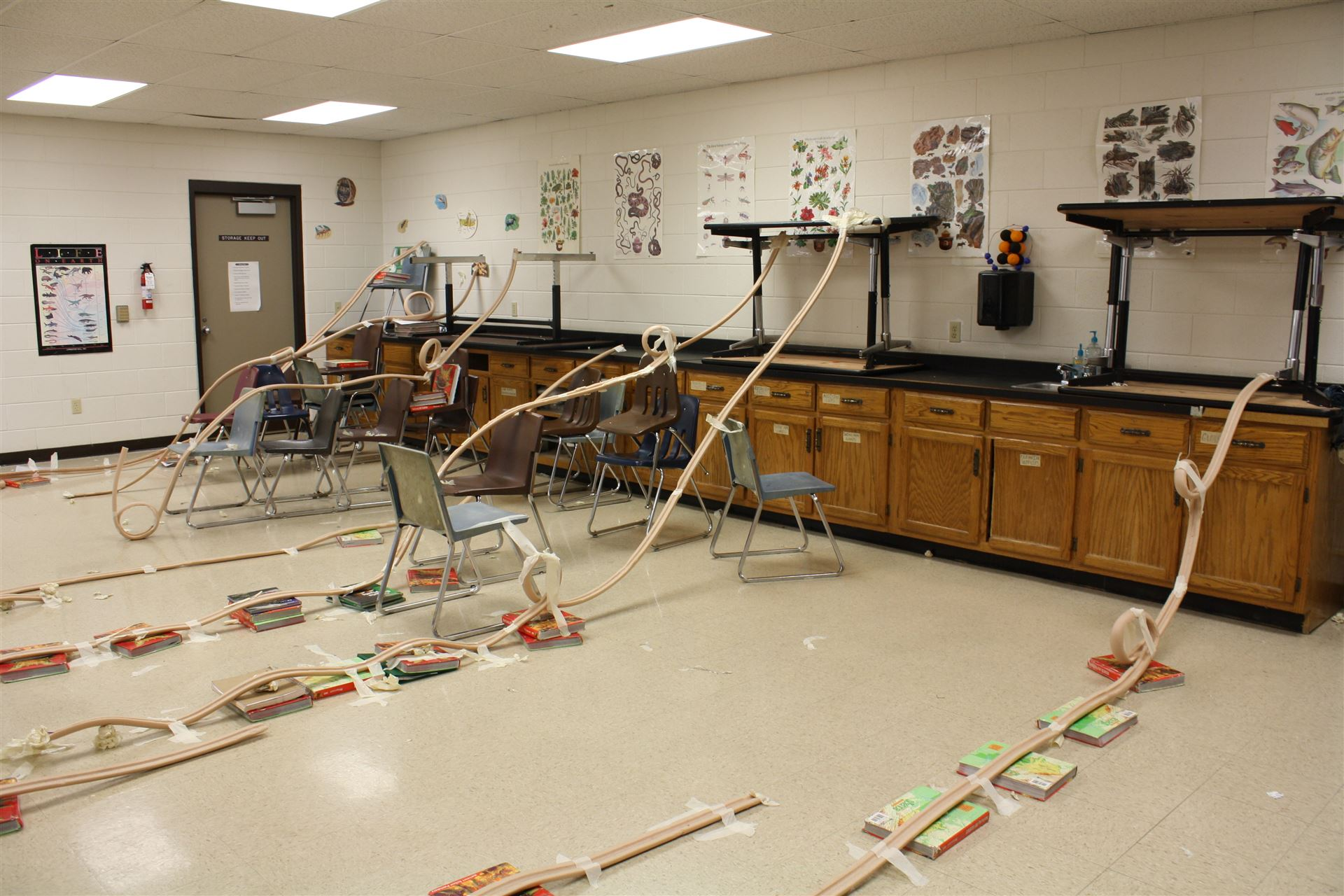 Turner Students Enjoy Building Roller Coasters And Going Bowling To Study Motion And Forces