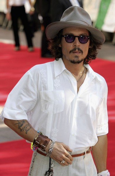 Celebrity Tattoos. In This Photo: Johnny Depp