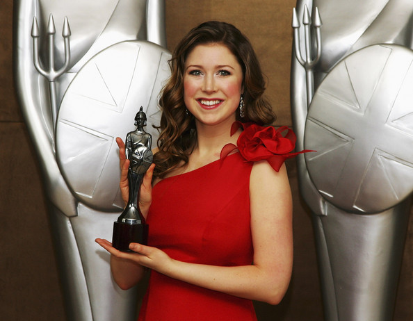 Nominee and Performer Singer Hayley Westenra poses with a Classical Brit award at a photocall for the Classical Brit Awards 2008 at the Mayfair Hotel on April 8, 2008 in London, England.  The Classical Brit Awards will take place on the 8th May in the Royal Albert Hall.